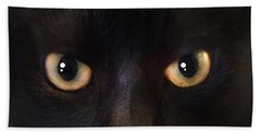 The Dark Cat Beach Towel