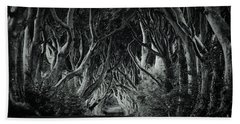 The Dark Hedges Beach Towel
