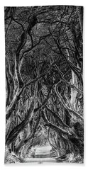 The Dark Hedges Beach Towel