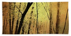 The Dawn Of The Trees Beach Towel