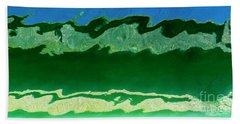 Beach Towel featuring the photograph The Deep End by Wendy Wilton