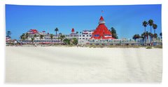 The Del Coronado Hotel San Diego California Beach Towel