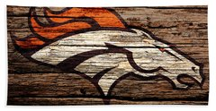 The Denver Broncos 8b Beach Towel