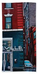 The Deville Beach Towel by Reb Frost