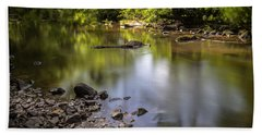 Beach Sheet featuring the photograph The Devon River by Jeremy Lavender Photography