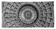 The Dome Bw  Beach Towel