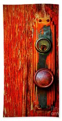 The Door Handle  Beach Sheet by Tara Turner