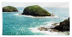 The Doughboys Island Landscape Beach Towel
