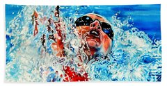 Beach Towel featuring the painting The Dream Becomes Reality by Hanne Lore Koehler