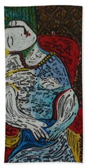 The Dream Walker -le Reve Zombi  Beach Towel