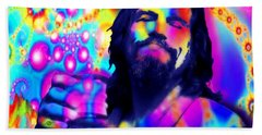 The Dude The Big Lebowski Jeff Bridges Beach Sheet