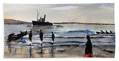 The Dun Aengus Off Aran, Galway Beach Towel