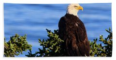 The Eagle Has Landed Beach Towel