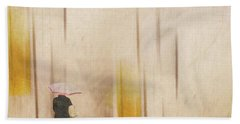 Beach Towel featuring the photograph The Edge Of Autumn by LemonArt Photography