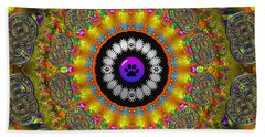 Beach Towel featuring the digital art The Edge Of The Universe  by Robert Orinski