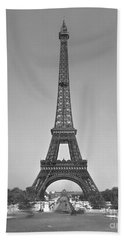 The Eiffel Tower Beach Towel
