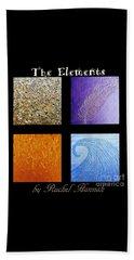 The Elements Beach Towel by Rachel Hannah
