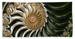 The Emerald Queen's Nautilus Beach Towel