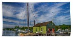 The Emma C. Berry, Mystic Seaport Museum Beach Sheet