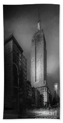 Beach Towel featuring the photograph The Empire State Ch by Marvin Spates