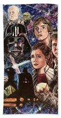 The Empire Strikes Back Beach Sheet