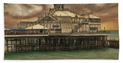 The End Of The Pier Show Beach Towel