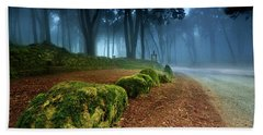 The Enlightenment Beach Towel by Jorge Maia