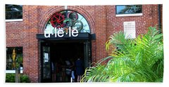 The Entrance At Ulele Beach Towel
