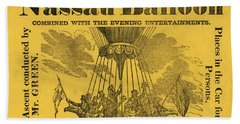 The Evening Fete Beach Towel