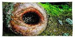The Eye In The Tree Beach Towel
