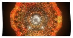The Eye Of Cyma - Fire And Ice - Frame 160 Beach Towel