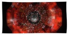 The Eye Of Cyma - Fire And Ice - Frame 45 Beach Towel