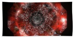 The Eye Of Cyma - Fire And Ice - Frame 49 Beach Towel