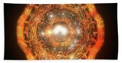 The Eye Of Cyma - Fire And Ice - Frame 7 Beach Towel