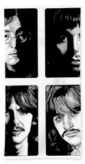 The Fab Four Beach Towel