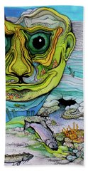 The Face Of Summer Lost Beach Towel