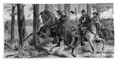 The Fall Of Reynolds -- Union Civil War Beach Towel