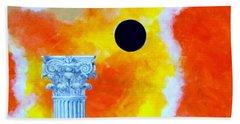 The Fall Of Rome Beach Towel