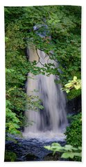 The Falls At Patie's Mill Beach Towel