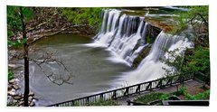 The Falls Of Chagrin Beach Towel