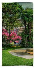 Beach Towel featuring the photograph The Fancy Swiss South-west by Hanny Heim