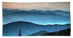 The Far Blue Smoky Mtns. Beach Sheet