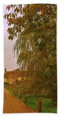Beach Sheet featuring the photograph The Farm In Autumn by Anne Kotan