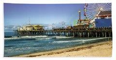 The Ferris Wheel - Santa Monica Pier Beach Sheet