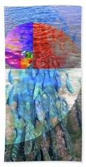 The Fibonacci Migration Beach Towel