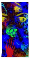 The Fight For Souls Beach Towel