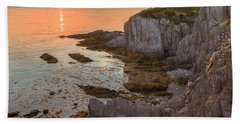 Nova Scotian Sunset Beach Towel