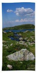 The Fish Lake-rila Lakes Beach Towel