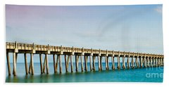 The Fishing Pier Beach Towel