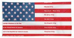 The Flag Beach Towel